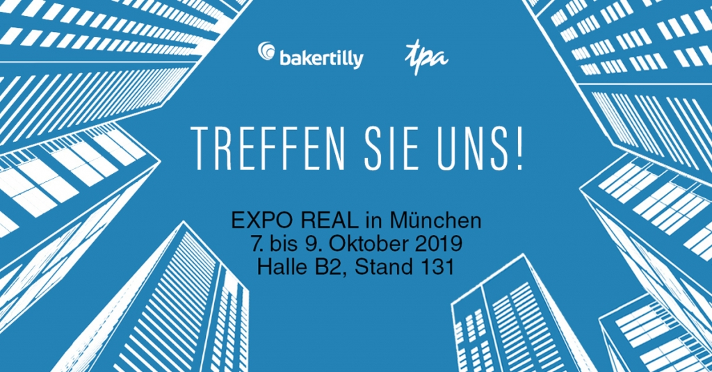 Expo Real immobilien steuerberater tpa baker tilly muenchen