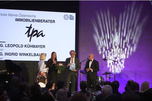 TPA Real Estate Advisor Real estate Brand awards europe