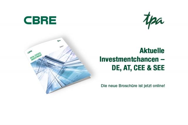 CBRE TPA Tipps für Immobilieninvestoren - Rel Estate Investments in CEE