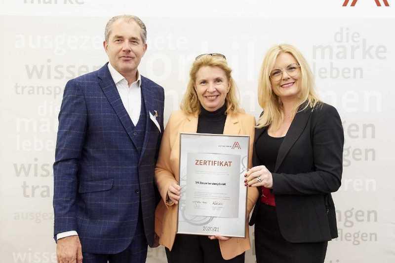 TPA Steuerberatung ist ausgezeichneter Leitbetrieb Austria