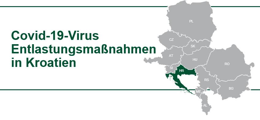 Kroatien COVID-19 Virus Hilfe für Unternehmen