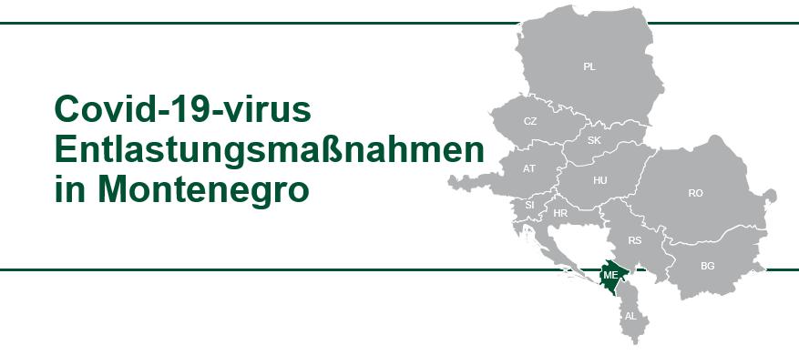 Montenegro COVID 19 virus Hilfe für Unternehmen