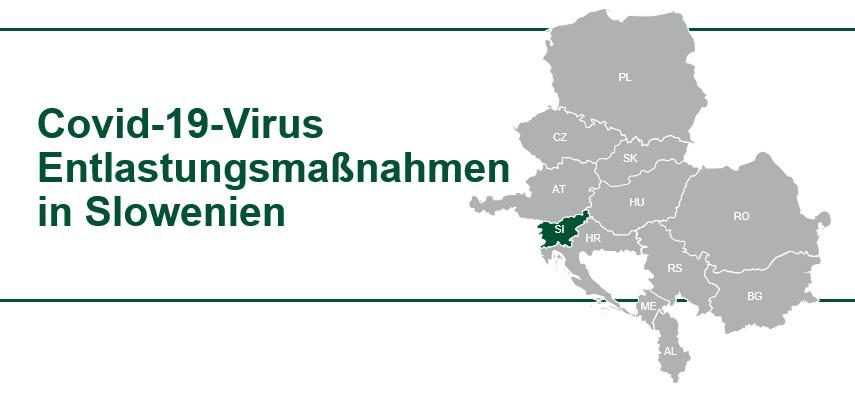 Covid-19 Virus Hilfe für Unternehmen in Slowenien