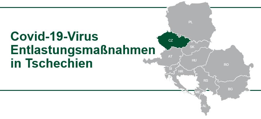 COVID19 Virus Hilfe für Unternehmen in Tschechien