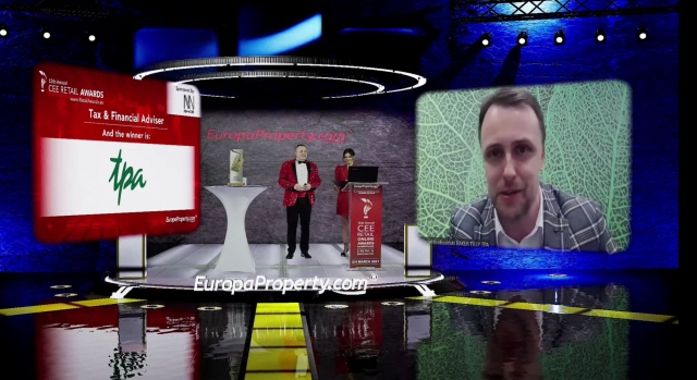 TPA Poland: Award 2021: Best Tax Advisor CEE Retail Awards