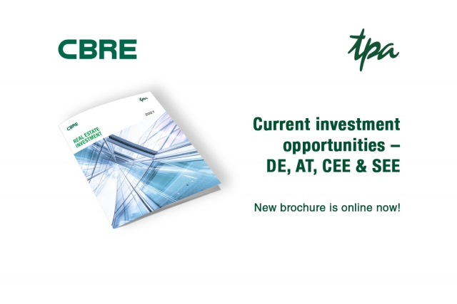 Tips Real Estate Investors - CBRE & TPA Group Real Estate investments in CEE 2021